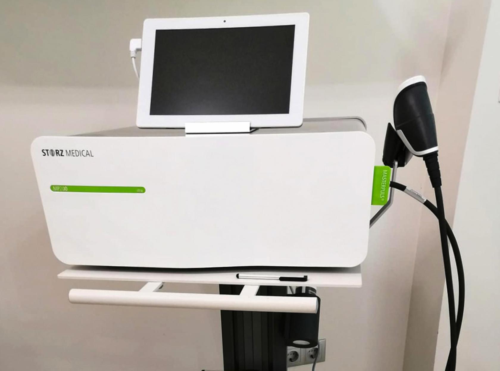 Új lökéshullám terápia gép